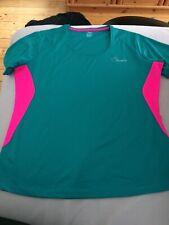 Damen Sportshirt Trainingsshirt Trägershirt Fitnessshirt  Shirt  Gr S