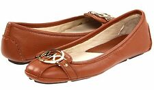 Michael Kors Fulton MOC Leather Flats Shoes 1273 5.5