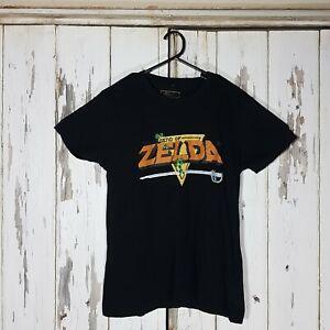 Mens The Legend Of Zelda Gaming Nintendo Tshirt Black Size M Medium