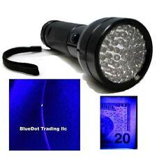 OxyLED 3AA Blacklight 51 LED UV Ultra Violet Mini Flashlight Torch Light Lamp