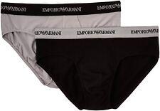 Emporio Armani - Slip Uomo Multicolore (nero/grigio) S