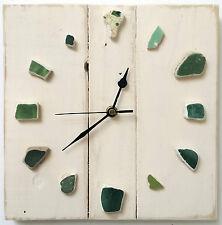 OOAK Original trozos de madera reloj de madera Madera indispensable Reciclado Rústico Shabby Chic