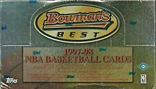 BOWMAN'S BEST FACTORY SEALED 1997-98 NBA BSKTB BOX TIM DUNCAN RC MICHAEL JORDAN