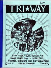 "Multi-Media Fanzine ""Tri*Way 1, 2"" GEN Star Trek, Buck Rogers, Original +"