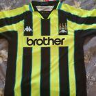 Manchester City away shirt 1998/99 XL