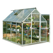 Palram 6' x 8' Hybrid Greenhouse Kit - Silver (model HG5508)