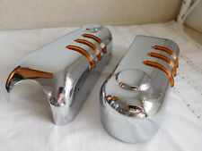 Chrome Motorcycle Vintage Tail or Turn Signal Light HARLEY possibly Road King