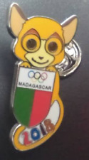 2018 PyeongChang Olympic winter Games pins NOC for Madagascar #2, limited 200