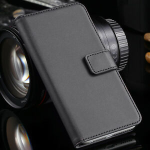 Luxury Quality Real Leather Case Cover Flip iPHONE Models Wallet