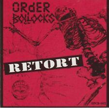Retort Split CD by Order/Bollocks (CD, E.A.S.T. Peace Records) LIKE NEW