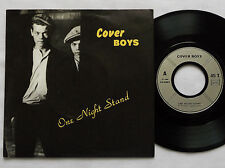 """COVER BOYS One night stand FRENCH 7"""" 45 ZAP! PRIVATE press(1986) New wave/punk"""