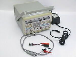 Sencore LC102 Auto-Z Capacitor & Inductor Analyzer with Leads, Adapter WORKS