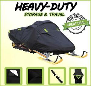TRAILERABLE 300 Denier Snowmobile Sled Cover fitsSki Doo Bombardier MX Z X-RS 850 E-TEC for Model Years 2019-2020 for trailering and Storage.