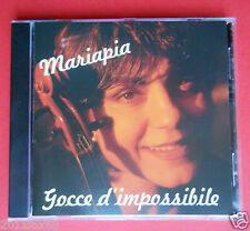 compact disc mariapia gocce d'impossibile julie rose io italia io america funk f