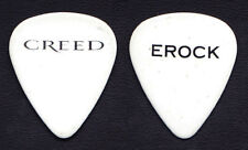 Creed Eric Friedman Erock Signature White Guitar Pick - 2010 Tour