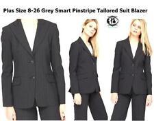 Women's Pinstripe Trouser Plus Size Suits & Tailoring