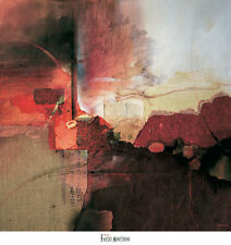 """Abstract Large print by Fausto Minestrini """" Inferno """""""