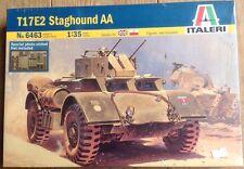 ITA6463 Staghound AA Armored Vehicle 1-35 Italeri