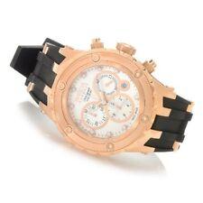 Invicta Hombres Reserve Subaqua Suizo Tono Oro Rosa Ss & Goma Reloj 80414