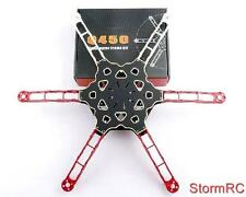TOTEM Q450 MINI ESAGONALE Alieno Quadcopter Frame Kit w / Integrated PCB CABLAGGIO UK