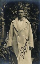 ALFRED BEAMISH Signed Photograph - English Tennis Champion - Open 1912 Preprint