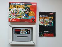 Super Mario Allstars - SNES - OVP Modul Anleitung - Super Nintendo - PAL