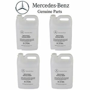 Fits Mercedes Freightliner Set of 4 Engine Coolant / Antifreeze GENUINE Q1030004