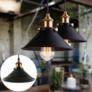Retro Deckenlampe Vintage-Leuchte Pendelleuchte Hängelampe Industrie Design E27