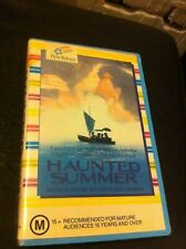 Haunted Summer VHS ex-rental video tape First Release Philip Anglim Laura Dern