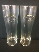 Lot 2 BRAND NEW STRONGBOW 16oz PILSNER BEER GLASS ~ Luminarc