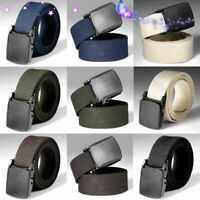 Men Military Outdoor Sports Military Tactical Nylon Waistband Canvas Web Belt A+