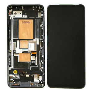 OEM For Asus ROG Phone 5 ZS673KS Display OLED LCD Touch Screen+Frame Replacement