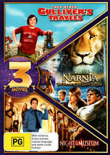 Gulliver's Travels + Night at The Museum + Chronicles of Narnia VoyageNew DVD R4
