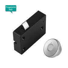 Fingerprints Drawer Lock USB Recharge Security Lock for Home &Office Cabinet
