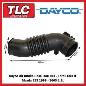 Dayco Air Intake Hose Ford Laser KN KQ Mazda 323 BJ 1.6L ZM 09/98 - 08/02