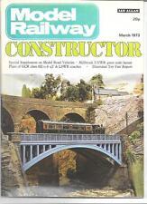 Model Railway Constructor March 1973 DH