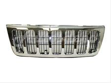 For 1999-2003 Jeep Grand Cherokee Laredo Grille Chrome Frame With Black Insert