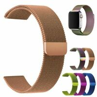 40 44mm For Apple Watch 6/5/4/3/2/1 Magnetic Milanese Loop Band iWatch SE Strap