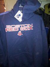 Boston Red Sox  navy Hooded Sweatshirt shirt MLB baseball Genuine Merchandise L