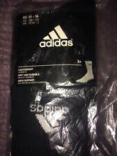 Adidas Originals 3 Pack Crew Logo Socks New in Black UK size 12.5-2. Brand New