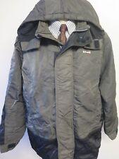 Genuine Schott NYC Hooded Parka Coat L 42-44 Euro 52-54 - Grey