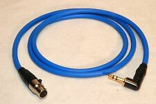 SOUND DEVICES TAPE OUTPUT CABLE 3.5mm TO TA5F LECTROSONICS WIRED LINE LEVEL