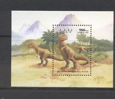Sahara 1992 Prehistoric Animals/DINOSAURS m/s n12452