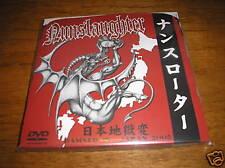 "NUNSLAUGHTER ""Damned In Japan"" DVD + CD krieg nifelheim"