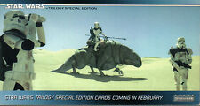 STAR WARS TRILOGY SPECIAL EDITION PROMO CARD P1