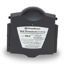 Pitney Bowes Red Fluorescent Ink Cartridge 765-0 for DM200 DM300 Series Mail Sys