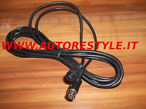 Cable Amplifier Extension Cord Cable Alpine Pioneer Pin 8 din From 2004 A 2007