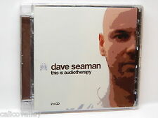 Dave Seaman: This Is Audiotherapy ~ NEW 2-CD Set (2005, Audio Therapy (UK))