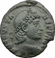 Constans Gay Emperor Constantine the Great son Roman Coin Success WREATH i32475