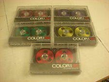 1980s Lot of 5 Reel to Reel Cassette Tapes New Old Stock
